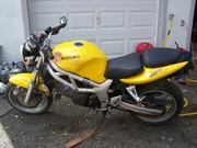 02 Suzuki SV 650 Runs Great