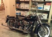 2011 Harley-Davidson Softail Deluxe with many nice add ons.3, 660 miles