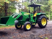 2011 John Deere 5045D with Attachments
